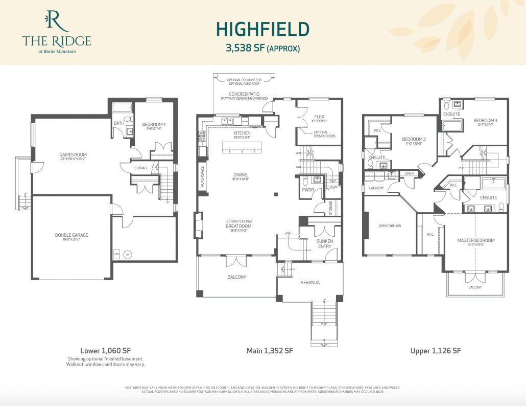 The Highfield at The Ridge by Foxridge Homes - The Foothills at